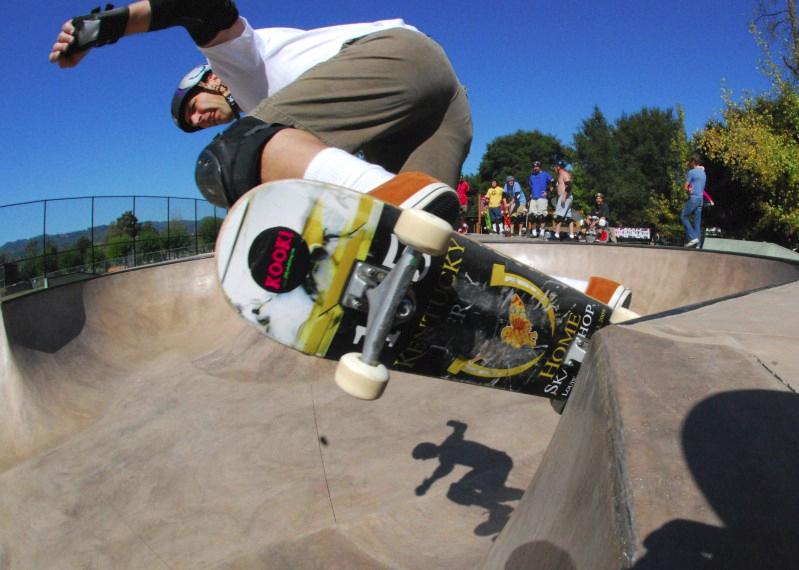 St Helena Skate park